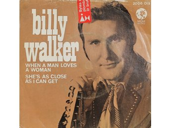 Vinylskiva med Billy Walker