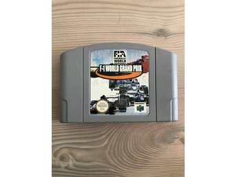 F-1 World Grand Prix Nintendo 64 N64