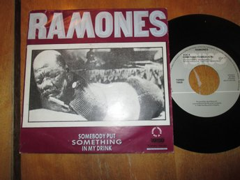 "Ramones ""Something To Beleive In/Somebody Put Something In My Drink"""