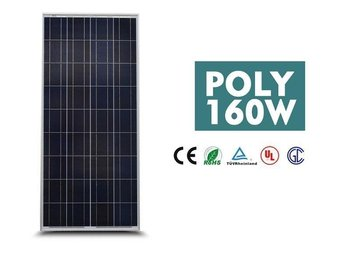 Solpanel Solcell Solfångare 160W *NY A Grade PolyCrystalline