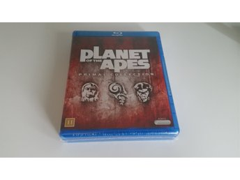 Planet Of The Apes Primal Collection 8 Discar Inplastad och Helt Ny