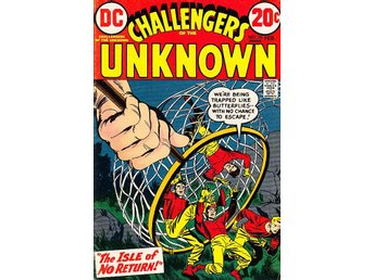 Challangers of the Unknown nr 78 1973 / VG/FN / bra skick