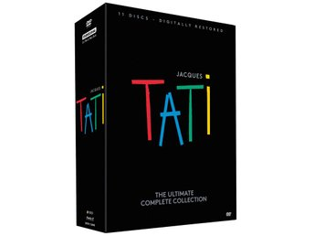 Jacques Tati: The Ultimate Complete Collection (11 DVD Box)