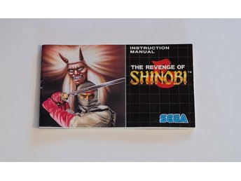 The Revenge of Shinobi manual - Sega Mega Drive