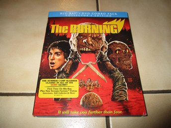 the burning blu ray dvd collectors edition horror skräck slasher tom savini
