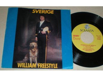 William Freestyle 45/PS Sverige 1982 VG++