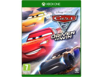 Cars 3 Driven to Win (Inkl. 20+ Bilar & banor) - Helt nytt till Xbox One!!! REA