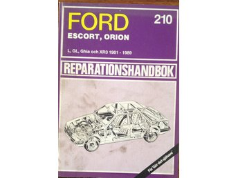 FORD ESCORT ORION 1981-1989 reparatonshandbok
