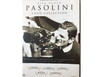 DVD - Pier Paolo Pasolini - 5 DVD Collection