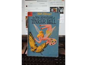 Walt disney The new adventures of TINKERBELL 1959