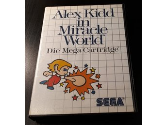 Alex Kidd In The Miracle World - Komplett - Sega Master System