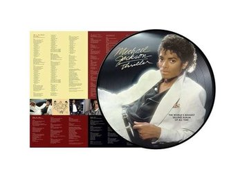 Jackson Michael: Thriller (Picturedisc) (Vinyl LP)