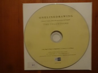 Onelinedrawing Sampler from The Volunteers CD 4 songs Promo Fint skick