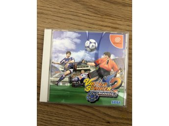 Virtua Striker 2 v2000.1 till Dreamcast. Japan import. Inget reservationspris!