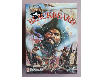 Blackbeard, Avalon Hill 1991 -- A Game of Piracy at Sea in the 18th Century