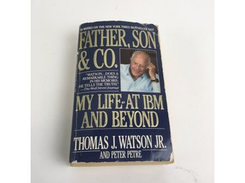 Bok, Father, Son & Co, Thomas Watson, Inbunden, ISBN: 9780553380835, 2000