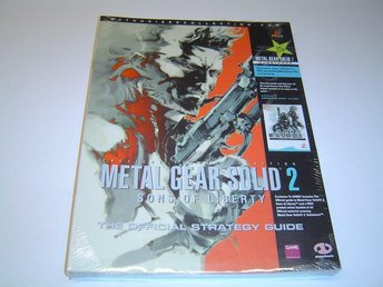 Metal Gear Solid 2 Sons of Liberty Guide *NYTT*