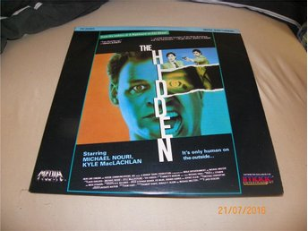 The hidden - 1 st Laserdisc - Forshaga - The hidden - 1 st Laserdisc - Forshaga