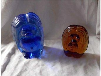 troll bergdala härliga färger 2 st blå orange - Gamleby - troll bergdala härliga färger 2 st blå orange - Gamleby