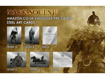 - Dark Souls II (2) Limited Collectors Ed 824 0f 2500 #RPG REA!# XBOX 360  -
