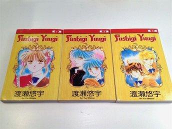 Fushigi Yuugi - Volym 1-3 - Manga - Uppsala - Fushigi Yuugi - Volym 1-3 - Manga - Uppsala