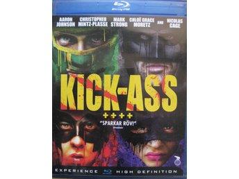Blu Ray Disc Bluray Film - Kick Ass - Uddevalla - Blu Ray Disc Bluray Film - Kick Ass - Uddevalla