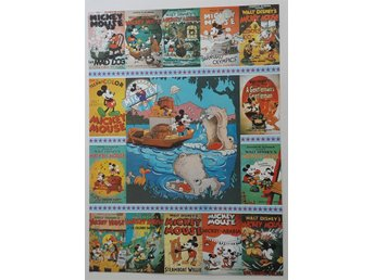 Disney, Mickey Mouse 60 years anniversary, affisch, poster