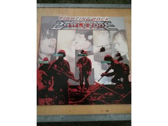 PAUL DI'ANNO'S BATTLEZONE-Fighting Back-LP 1987 Rare Brasil Press-Iron Maiden