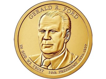 USA 2016-P. President Gerald Ford. 1 UNC Dollar