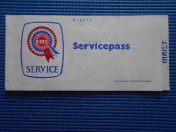 Servicepass BMC Brittish Motor Corporation 1968-1970
