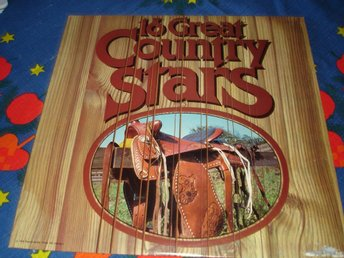 16 great country stars, LP