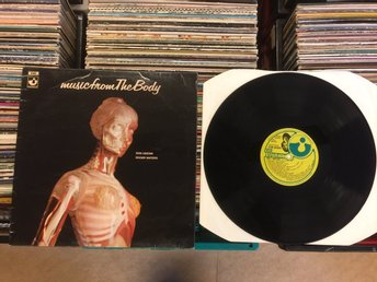 music from The Body Waters ( Pink Floyd )  Ovanlig LP  U.K.  E.M.I. Records 1970