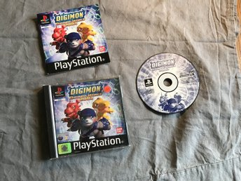 DIGIMON WORLD 2003 PS1 PLAYSTATION 1 PSONE