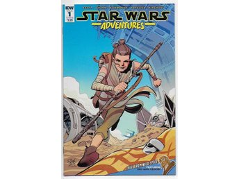 Star Wars Adventures # 1 Cover B NM Ny Import