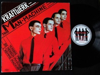 KRAFTWERK (M-) – The Man Machine / Vinyl LP Sweden '78 / 1st Press Capitol