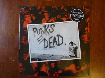 EXPLOITED PUNKS NOT DEAD LP