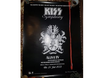 Javascript är inaktiverat. - Norrköping - Kiss the symphony Poster - Norrköping