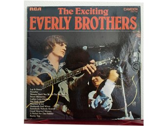 LP. THE EVERLY BROTHERS - THE EXCITING EVERLY BROTHERS.