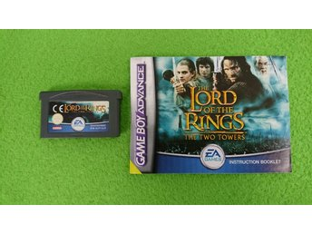 Lord of the Rings The Two Towers + Manual Gameboy Advance Nintendo GBA