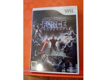 Wii Star Wars the force unleashed Wii  Komplett