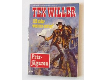 TEX WILLER 1981 nr 7 oläst arkivex NM REA 9kr