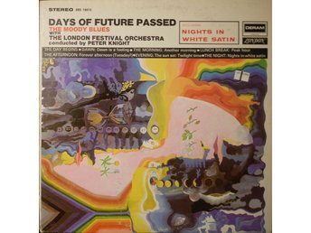 LP Moody Blues Days of future passed  With the London Festival Orchestra
