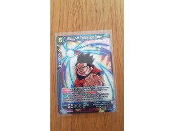 Dragon ball super card game (Tournament of Power)