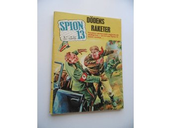 * Spion 13 nr 5, 1964, Fint skick! VG+/FN...men *