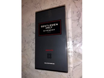 Givenchy Gentlemen Only Absolute parfym 100 ml OÖPPNAD