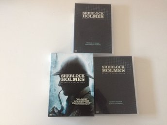 Sherlock Holmes - Classic Collection - 4st filmer