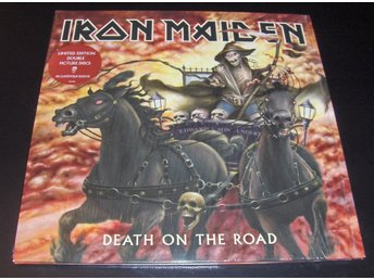 "Iron Maiden ""Death on the Road"" PICTURE DISCS"