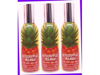 Bath & Body Works PINEAPPLE MANGO Home Concentrated Room Spray Fragrance Mist