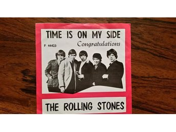 Rolling stones,single,norway,Time is on my side,1965