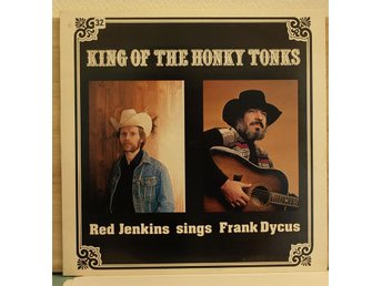LP. RED JENKINS - KING OF THE HONKY TONKS.